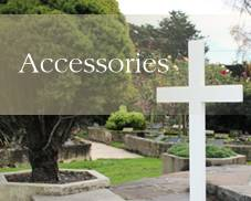 Coffins and accessories